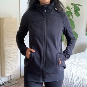 Lululemon Black Zip-up Jacket